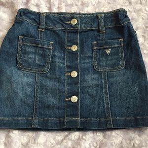 Guess denim skirt. Size 6.